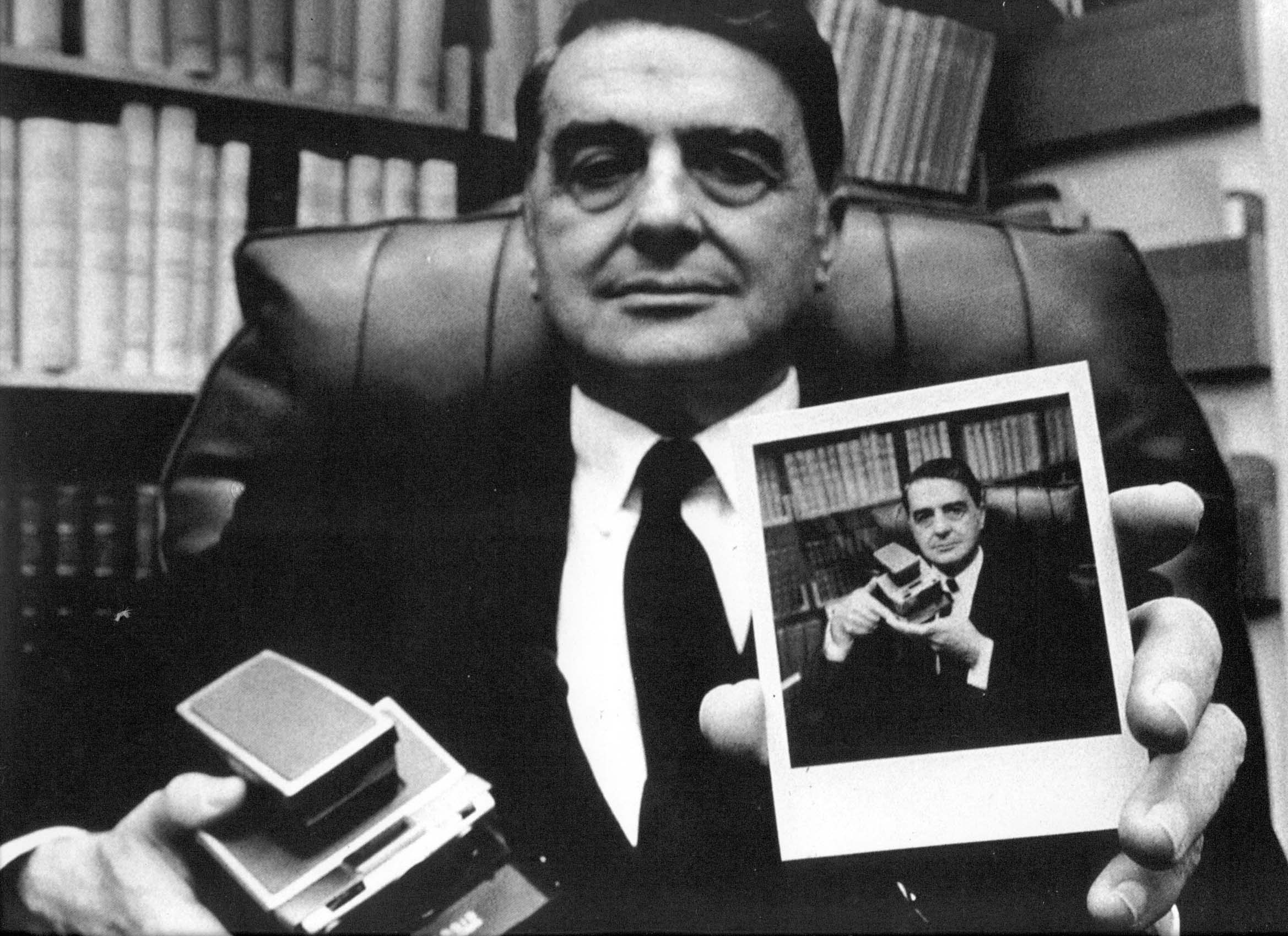 Edwin Land, American scientist and inventor, co-founded Polaroid.