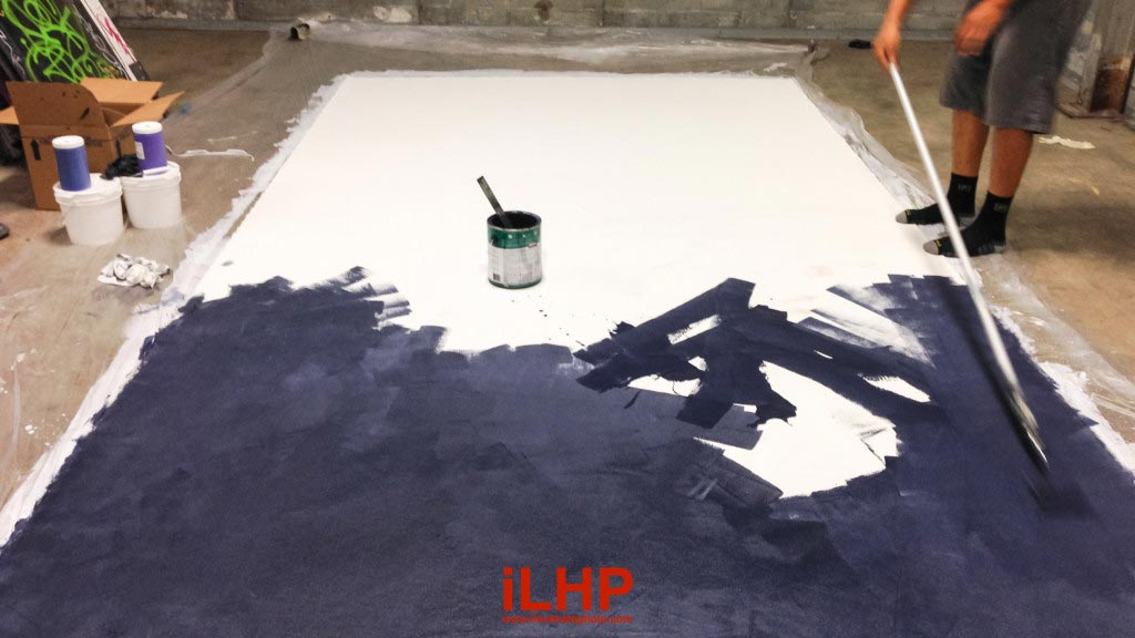 How To Paint Canvas Drop Cloth