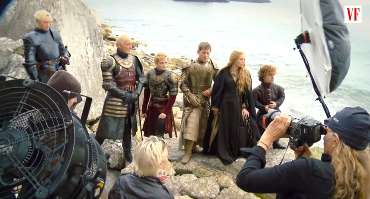 Behind the scenes video of Annie's Game of Thrones shoot