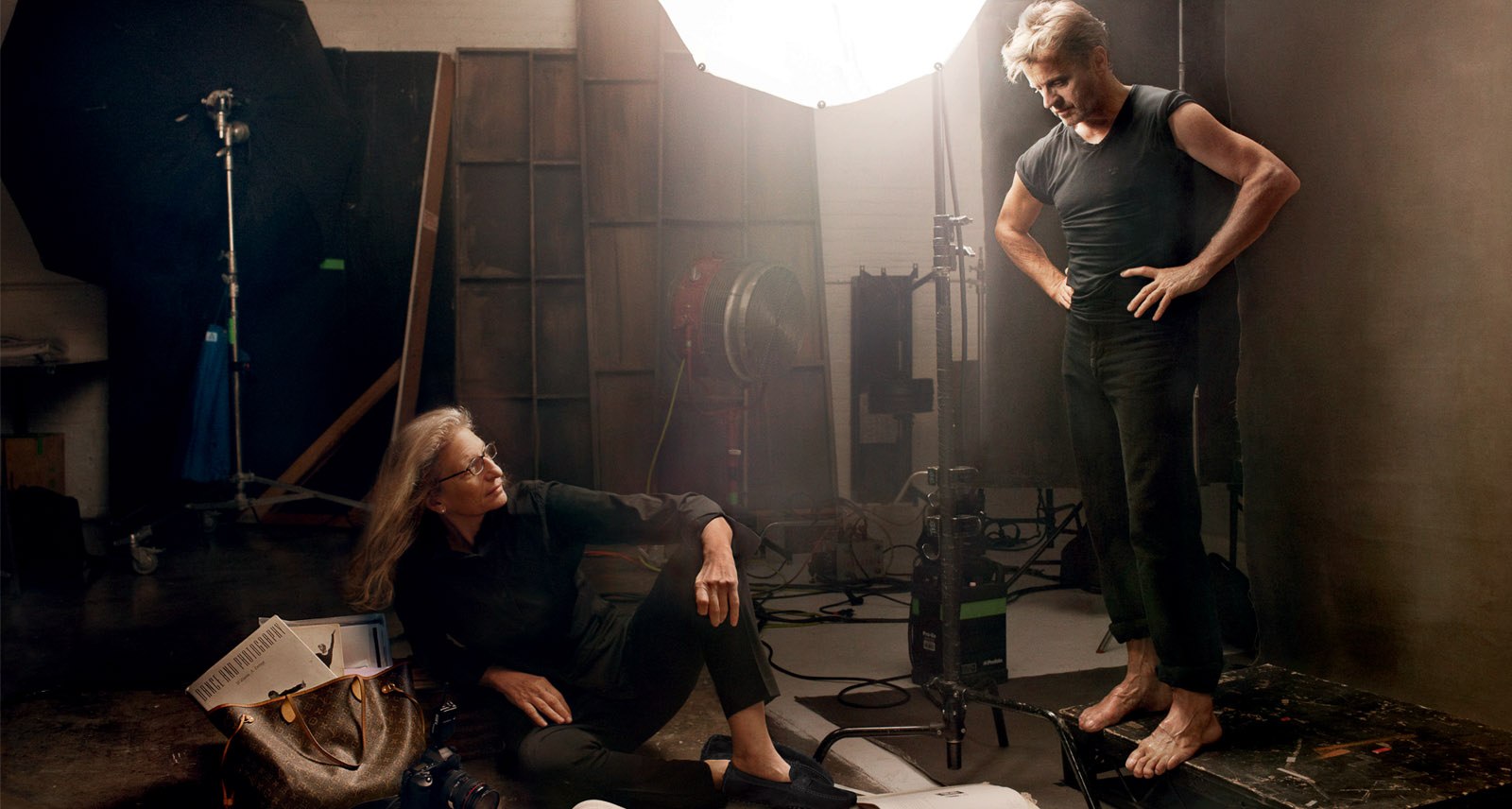 How To Shoot Like Annie Leibovitz Part 2 The Setup