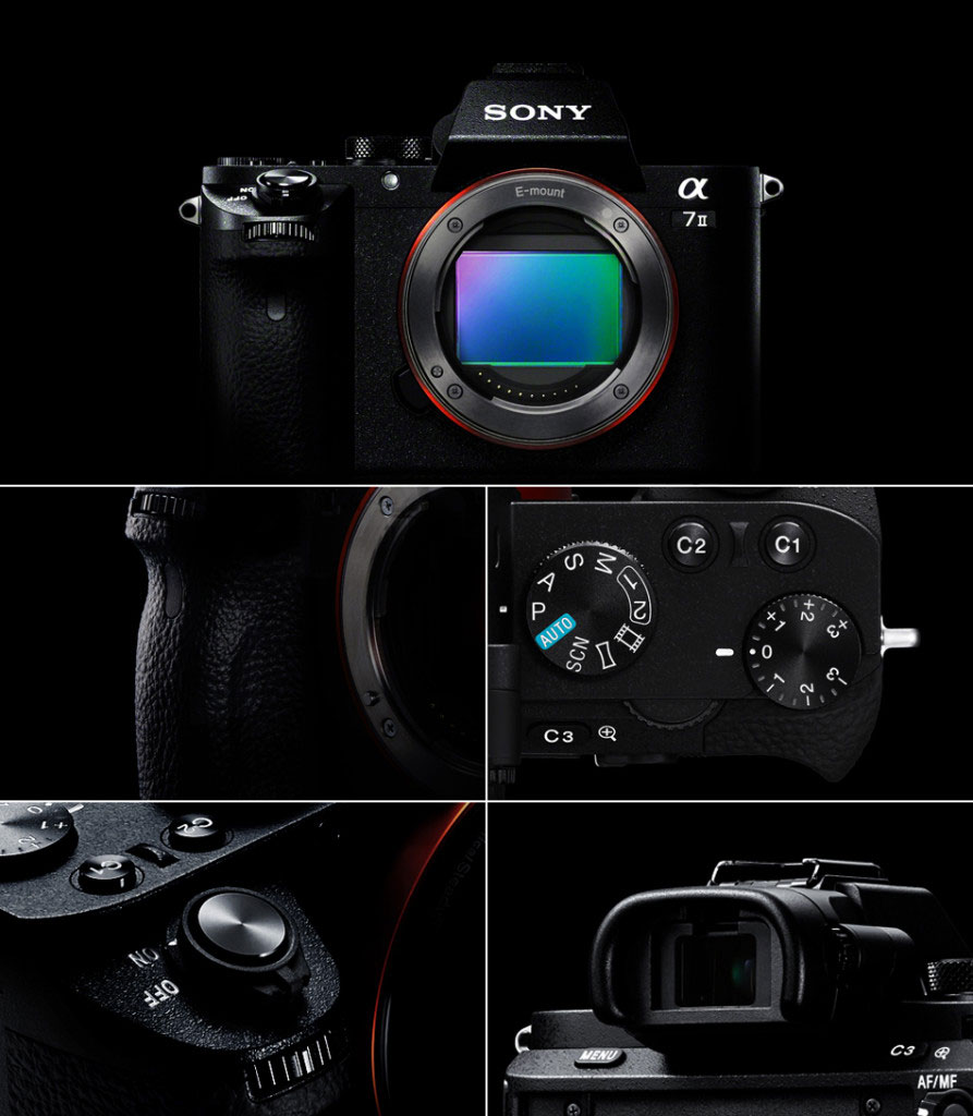 Sony A7II official picture iLHP