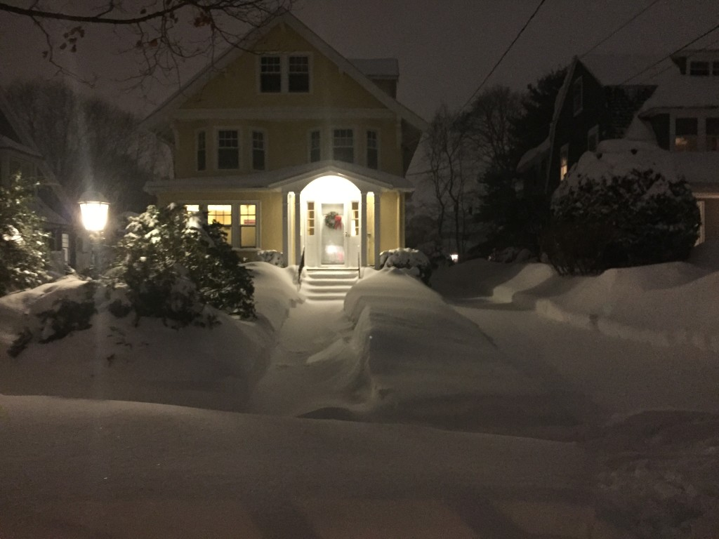 Cute houses greater Boston -  Boston Blizzard 2015 photography - sony-iLHP