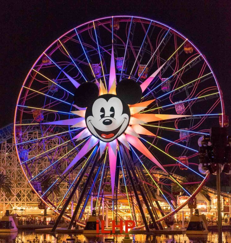 disney california adventures paradise pier mickey mouse ferris wheel