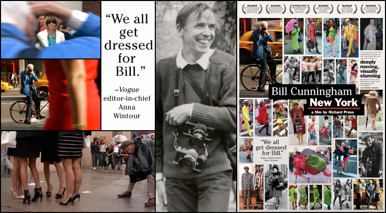 bill cunningham film we all get dressed for bill