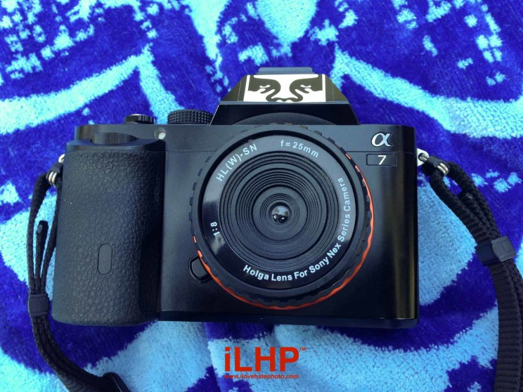 Make holga lens mountable to slr camera