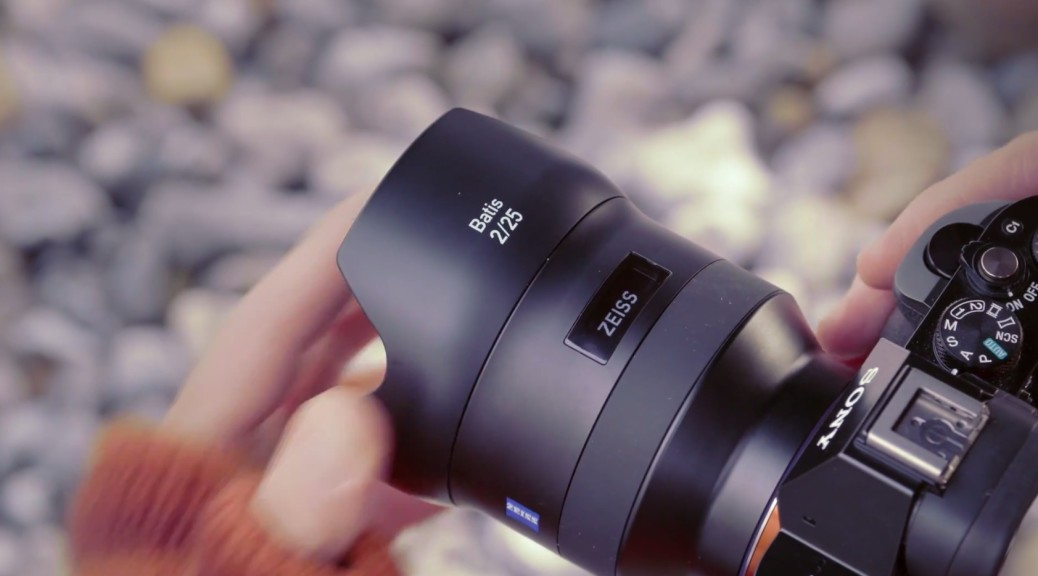 zeiss batis lens OLED display