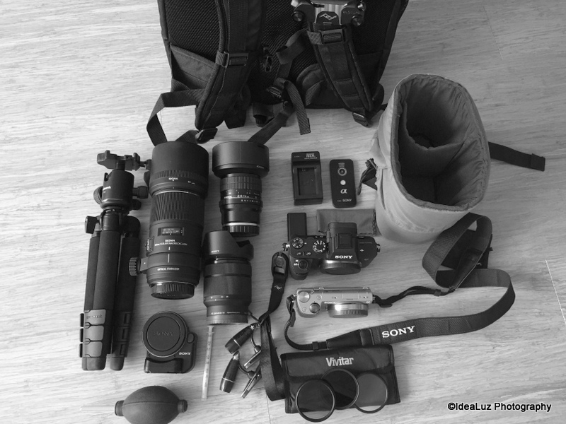 Getting prepared for travel photography. What are you going to bring? Choosing the right gear for travel photography- iLHP