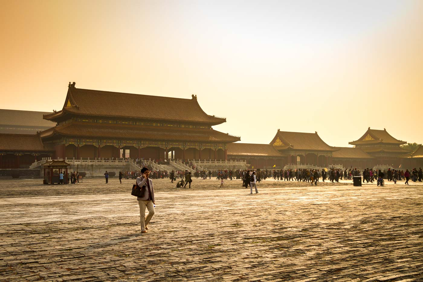 The Forbidden City in Beijing, China. Taken handheld while *ahem* creatively managing conference attendance - what's a 45' semi-jog to get some photos? I know I said you should skip popular monuments but take that with a pinch of salt!