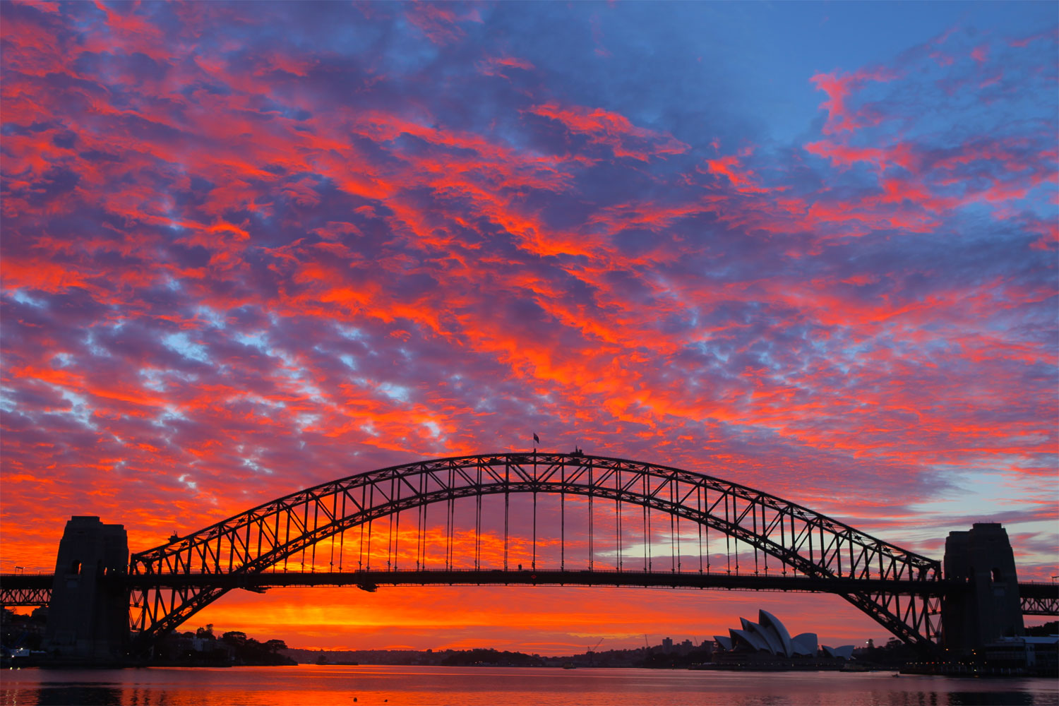 It doesn't matter how good your gear is, if you're not going out there photographing then you've purchased yourself an expensive paper weight. This sunrise shot of the Sydney Harbour Bridge was captured at 5am.