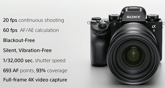 Sony A9 specs